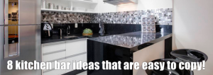 8 kitchen bar ideas that are easy to copy!